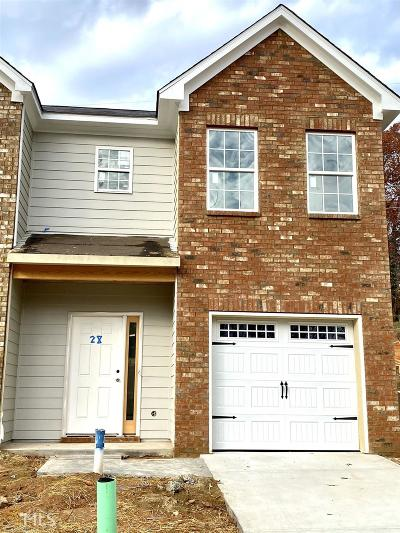 Gainesville Condo/Townhouse For Sale: 1487 Bluff Valley Cir #28