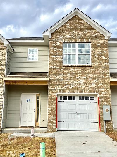 Gainesville Condo/Townhouse For Sale: 1489 Bluff Valley Cir #29