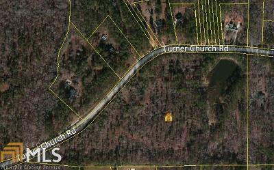 McDonough Residential Lots & Land New: Turner Chuch