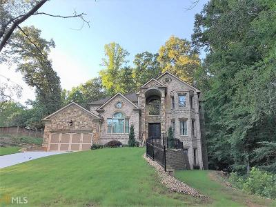 Marietta Single Family Home New: 4161 Blackland Dr