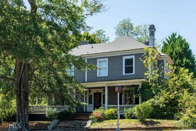 Newnan Single Family Home New: 70 Jackson St