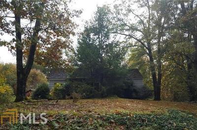 Marietta Residential Lots & Land New: 3550 Davis Rd