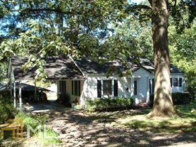 Smyrna Single Family Home New: 2790 Wright St