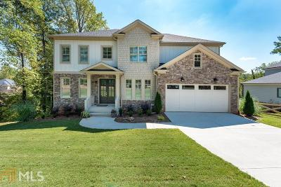 Marietta Single Family Home New: 3846 Wesley Chapel Rd