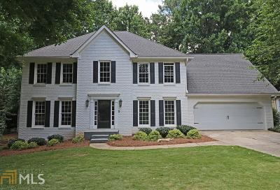Alpharetta Single Family Home New: 2805 Lakewind Ct