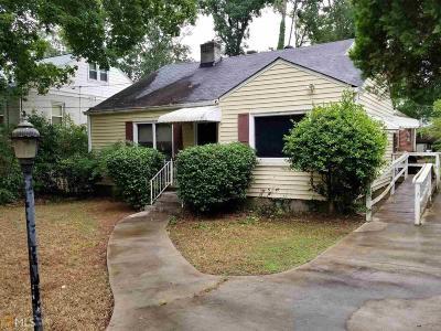 Decatur Single Family Home New: 439 E Pharr Rd