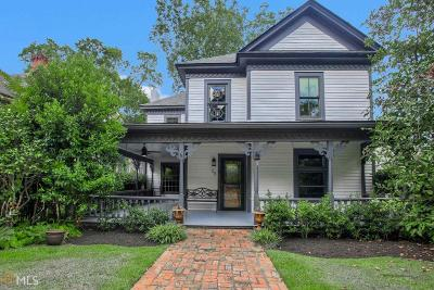 Newnan Single Family Home New: 58 Temple Ave