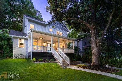 Atlanta Single Family Home New: 1591 Alder Ct