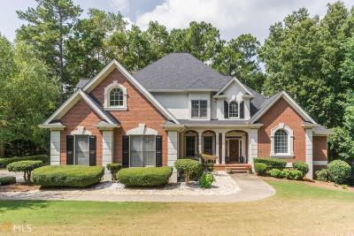 Milton Single Family Home New: 220 Oakhurst Leaf Dr