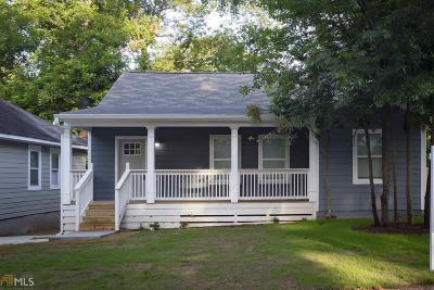 Fulton County Single Family Home New: 1119 Selwin Ave #1