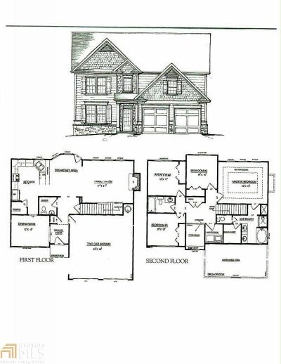 Paulding County Single Family Home New: 443 Cobblestone Trl
