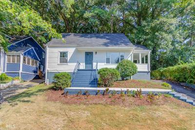 Fulton County Single Family Home New: 1177 Merrill Ave