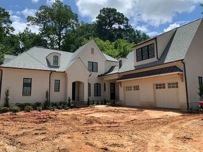 Single Family Home New: 4075 Peachtree Dunwoody Rd