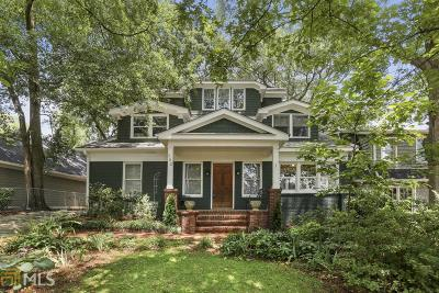 Single Family Home New: 382 Peachtree Ave