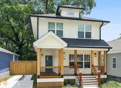 Fulton County Single Family Home New: 866 Welch Street SW