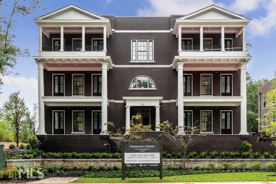 Alpharetta Condo/Townhouse New: 81 Thompson St #202