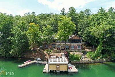 Rabun County Single Family Home New: 17 Lands End Ln