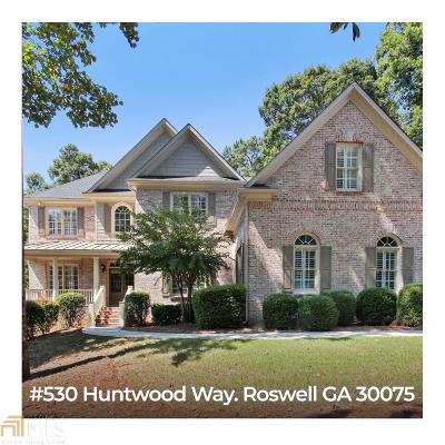 Roswell Single Family Home New: 5030 Huntwood Way