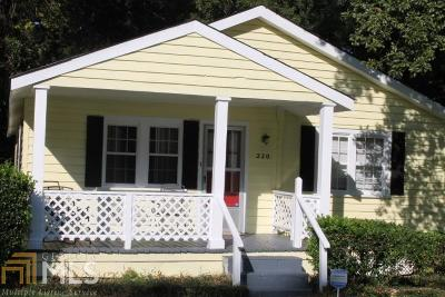 Milledgeville Single Family Home New: 220 N Richmond St #48