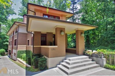 Atlanta Single Family Home New: 1141 Lanier Boulevard NE