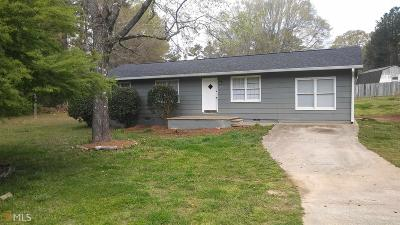 Griffin Single Family Home New: 3285 Fayetteville Rd