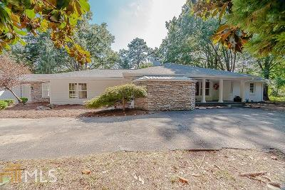 Roswell Single Family Home New: 1900 Woodstock Rd