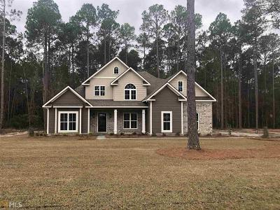 Statesboro Single Family Home New: 204 Plantation Trl