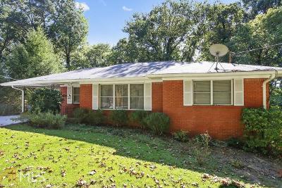 Single Family Home New: 1080 Buckner Rd
