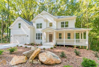 Roswell Single Family Home New: 1700 Ridgefield Drive