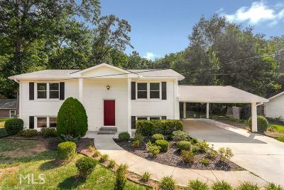 Single Family Home New: 4500 Bells Ferry Road NW