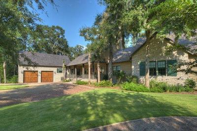 St. Simons Island Single Family Home For Sale: 152 Harris Lane (Lot 176)