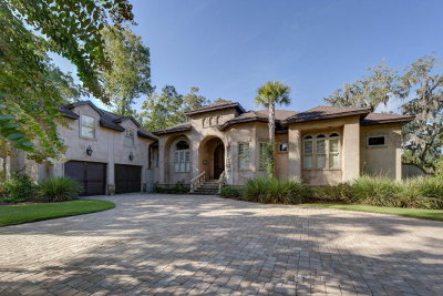 St Simons Island Club Single Family Home For Sale: 127 Cypress Point