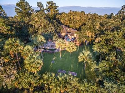 Brunswick Single Family Home For Sale: 337 Oak Grove Island