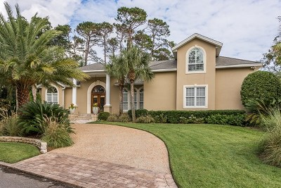 St Simons Island Club Single Family Home For Sale: 107 Turnberry