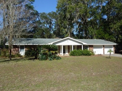 Jekyll Island Single Family Home For Sale: 536 Old Plantation Rd