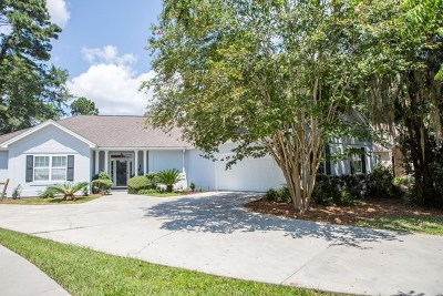 St. Simons Island Single Family Home For Sale: 212 West Davis Cup Court