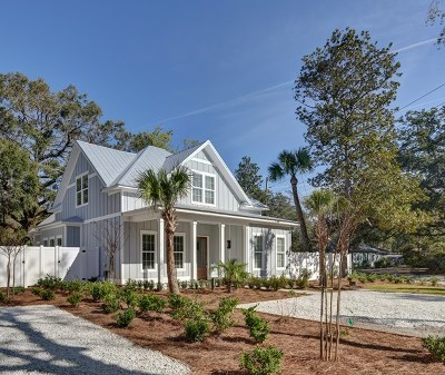St. Simons Island Single Family Home For Sale: 661 Cummings Lane