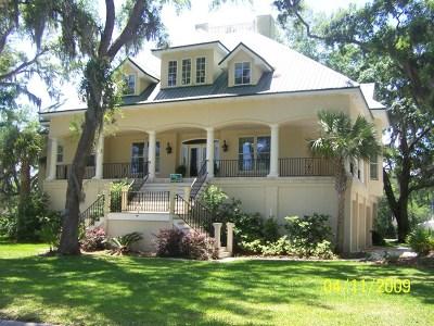 St. Simons Island Single Family Home For Sale: 1231 Sea Palms West