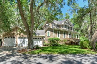 St. Simons Island Single Family Home For Sale: 14 Wesley Crossing