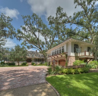 Frederica Golf Club Single Family Home For Sale: 404 Pikes Bluff Drive (Lot 211)