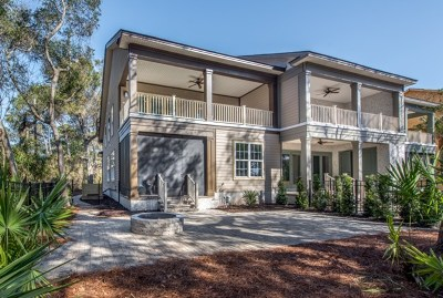 Jekyll Island Single Family Home For Sale: 251 Turtle Track Lane