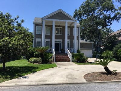 St. Simons Island Single Family Home For Sale: 154 Rosemont Street