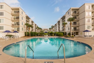 St. Simons Island Single Family Home For Sale: 1440 Ocean Boulevard #233
