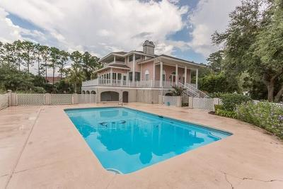 St Simons Island Club Single Family Home For Sale: 136 Cypress Point