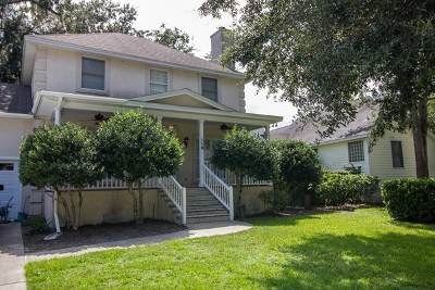 St. Simons Island Single Family Home For Sale: 110 East Commons Drive