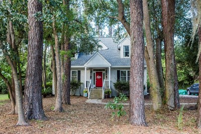 St. Simons Island Single Family Home For Sale: 218 West Point Drive