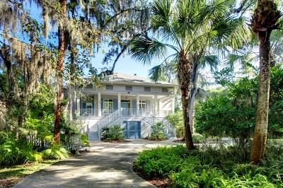 St. Simons Island Single Family Home For Sale: 206 Lorah Lane