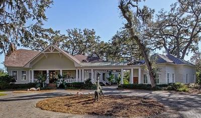St. Simons Island Single Family Home For Sale: 133 Point Lane