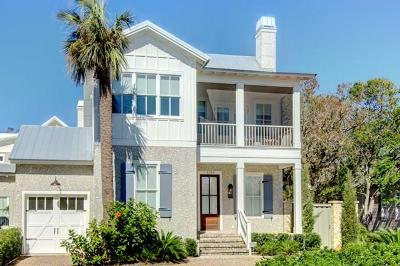 St. Simons Island Single Family Home For Sale: 1155 Beachview Drive