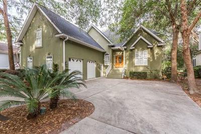 St. Simons Island Single Family Home For Sale: 34 West Lake Drive